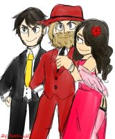 WWE Mafia Trio by Shinkumancer