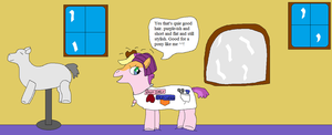 AJ and the english stylist pony pt.9 by thetrans4master