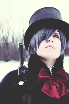 Ciel Phantomhive: Thoughtful Death by MilordCiel