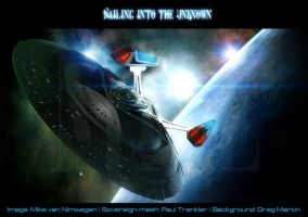 'Sailing into the Unknown' by Mikey1980
