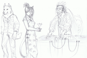 Vagary Party Animals by Deathcomes4u