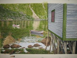 newfoundland art francois by kenpower