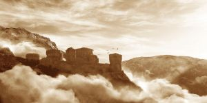 Fortress in autumn by coccoluto