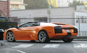 Orange Lamborghini by Finnish-Viking