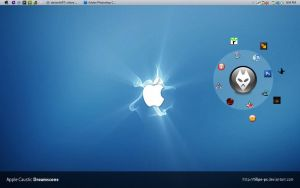 my VISTA windows 7  mac theme by l-takumi-l