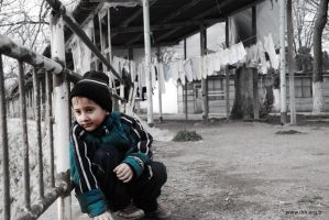 Chechen Refugee in Istanbul by ademmm