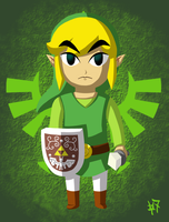 The Hero of Hyrule by Zaziki7