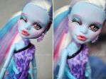 Monster High Abbey repaint by prettyinplastic