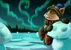 Teemo in Fjeljord by Dicenete