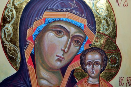 Virgin Mary detail by jacques23