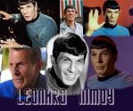 Leonard Nimoy by Mirinata