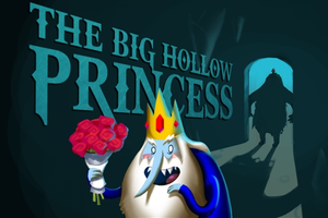 ADVENTURE TIME: The Big Hollow Princess by voltar517