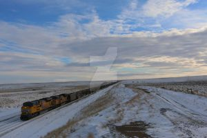 High plains Winter. by 288jh