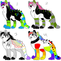 Free Tropical Adopts by intoxicated-with-paw