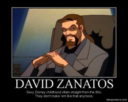 David Xanatos by GarnetWings