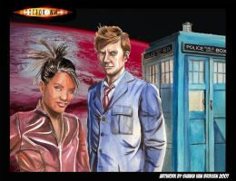 Martha and The Doctor Finished by ShawnVanBriesen
