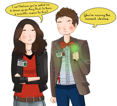 Agents of SHIELD: Fitz the Whovian by ice-cream-skies