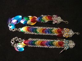 Rainbow Chainmail by xThe-Royal-Dragonx