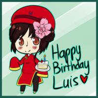 HBD Luis o vo by quietwinter