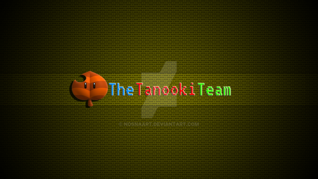 Tanooki Team Banner by NosnaArt