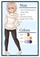 Oc Profile: Nini by LithiumRazor