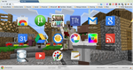 My Minecraft Google Chrome Theme by MarkDoob