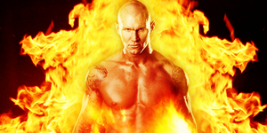 Randy Orton Man On Fire by Y2JGFX