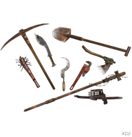 RE5 Town Majinis Weapons Pack [RE5] by CaxUchiha