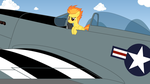 Spitfire with a Mustang by IFollowRoads