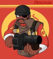 DAT DEMOMAN by KelCasual
