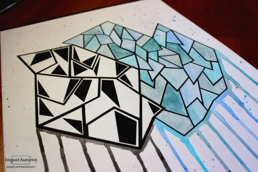 Abstract Cube Thingo - Inspired by Bree-Leeds! by ImportAutumn