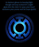 A new Blue Lantern Oath by Witchenboy13