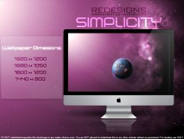 SIMPLICITY Wallpaper Pack by redrum201
