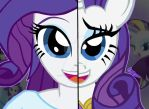 My Little Pony FIM Duality: Rarity by OptimumBuster