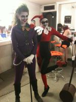Harley and Joker by Sin-Of-Love