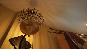 Lamp and curtain rail by BecciES