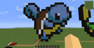 Minecraft Squirtle icon! by Tigereagle