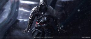 Ezio Auditore  Assasin's Creed Revelations Fan art by Kalberoos