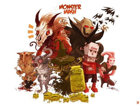 Monster Mash by Fealasy