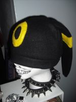 Umbreon Hat by SarahRuthless