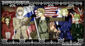 Allied Forces-Hetalia by thechurroblaze