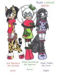 Team Colored Spirits by SonicFansRock4Life
