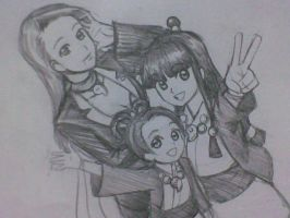Mia, Maya and Pearl by Chips13