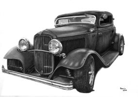 1930 s Ford A by narvis