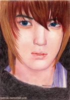 Jaejoong in color by Tsuki-Za