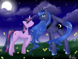 Princess of the Night by SpiderShii