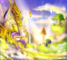 The Magical World of Spyro by artisteviolet
