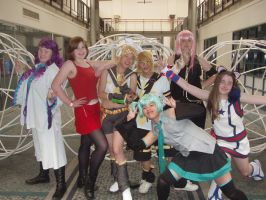 Vocaloid cosplay group by VampiricGothicMonkey