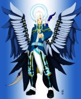 Zadkiel angel of Prayer by Katarren