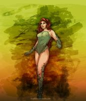 Poison Ivy-- St. Patricks Day by scriptKittie